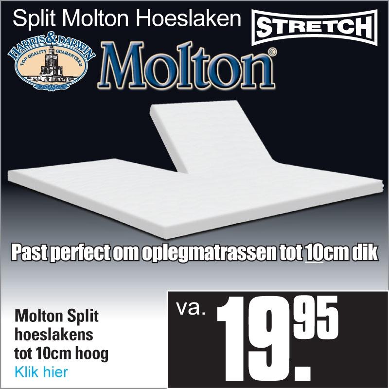 Split Molton Hoeslaken