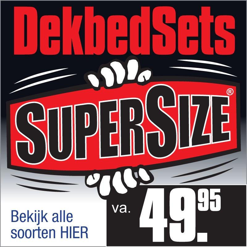 SuperSize Dekbedsets