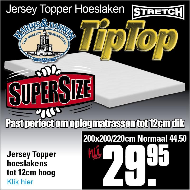 TipTop Jersey Hoeslakens XL