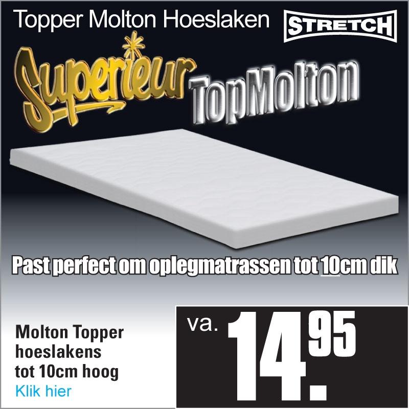 Topper Molton Hoeslaken