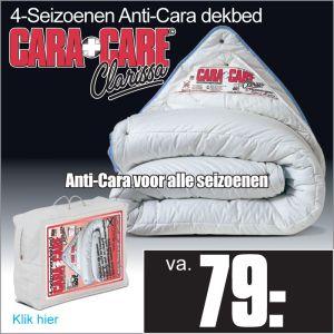 Cara Care 4-Seizoenen Dekbed Huismijtvrij