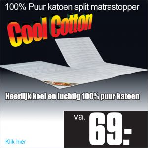 Verkoelende Split-Topper Cool Cotton©