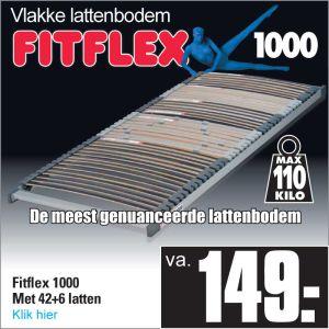 Fit-Flex 1000 42-Lats Lattenbodem