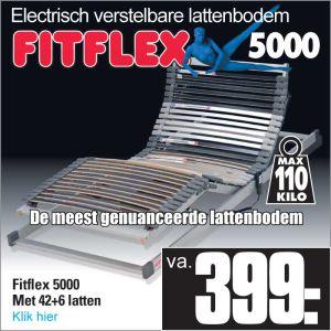 Fit-Flex 5000 Electrisch verstelbare 42-Lats Lattenbodem