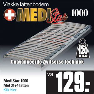 Medi-Star 1000 31-Lats Lattenbodem
