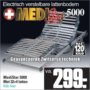 Medi-Star 5000 Electrisch verstelbare 32-Lats Lattenbodem