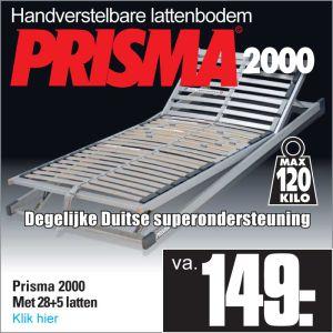Prisma 2000 verstelbare 28-Lats Lattenbodem