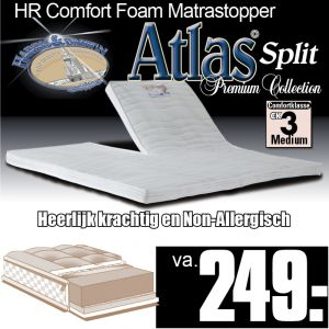 Atlas Split TopperMatras HR40