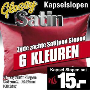 Kapsel Slopen Glossy Satin