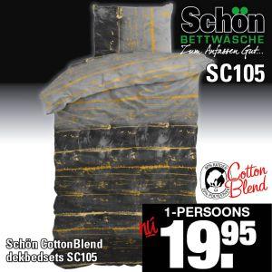Dekbedovertrekset Cotton Blend SC105