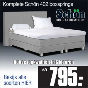 Complete Luxe Boxspring Schön 402
